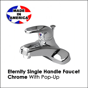 Eternity Single Handle Faucet Chrome 33386