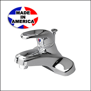 Eternity Single Handle Faucet Chrome with Pop-Up 33386