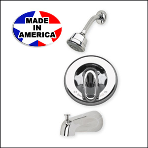 Eternity Pressure Balance Tub & Shower Chrome 33388