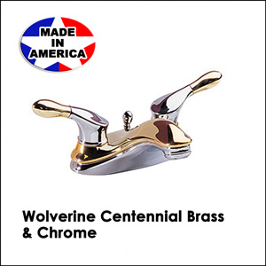 Wolverine Centennial Brass & Chrome CL13341