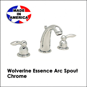 Wolverine Essence Arc Spout Chrome ESW1330