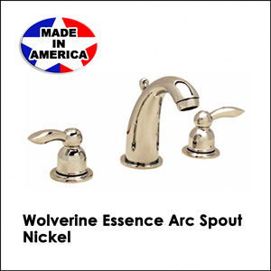 Wolverine Essence Arc Spout Nickel ESW1430