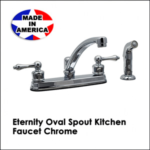 Eternity Oval Spout Kitchen Faucet