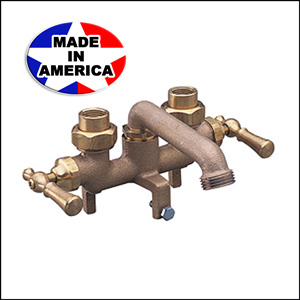 Wolverine Finale Laundry Faucet Rough Brass 50210