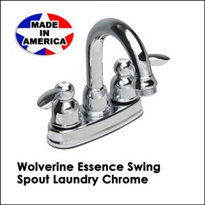 Wolverine Essence Swing Spout Laundry Chrome ESL0340