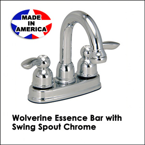 Wolverine Essence Bar with Swing Spout Chrome ESL1360